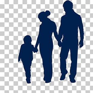 Family Child Silhouette PNG