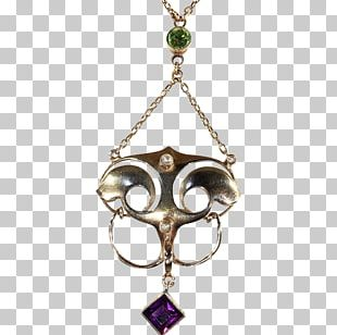 Locket Earring Necklace Body Jewellery PNG