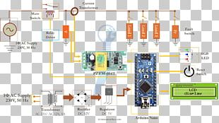 Wiring Diagram Arduino Electrical Wires & Cable Circuit Diagram Electricity Meter PNG