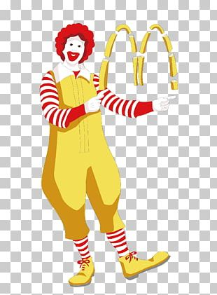 Ronald McDonald McDonalds French Fries Fast Food PNG