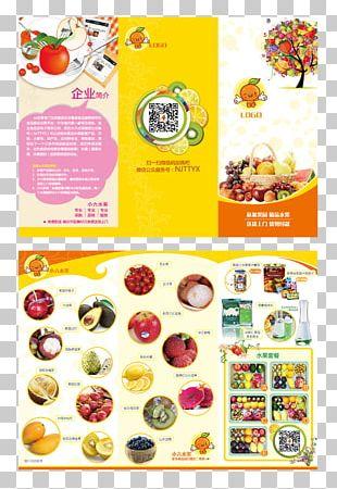 Brochure Poster Food PNG