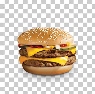 Cheeseburger McDonald's Quarter Pounder Whopper McDonald's Big Mac Hamburger PNG