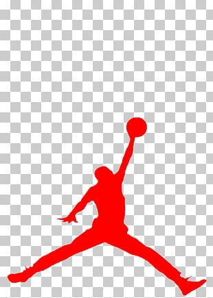 Jumpman Air Jordan Logo Decal T-shirt PNG