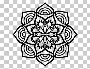 Mandala Drawing Coloring Book Mehndi PNG