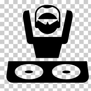 Disc Jockey Headphones Logo Turntablism PNG