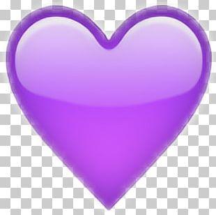 IPhone Emoji Sticker Heart PNG
