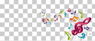 Musical Note Melody PNG