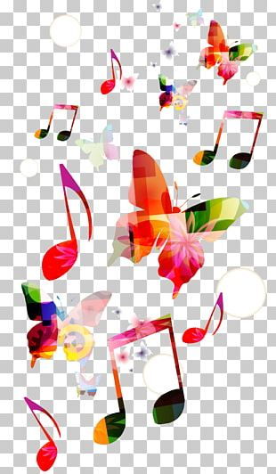 Musical Note Background Music Clef PNG