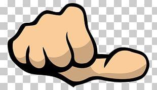Thumb Signal Fist PNG