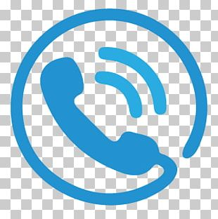 Blue Phone Icon PNG