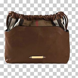 Handbag Leather Burberry Messenger Bag PNG