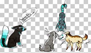 Cat Dog Horse Fauna Cartoon PNG