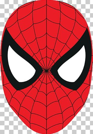 Spider-Man Logo Mask PNG