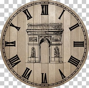 Clock Face Creativity PNG