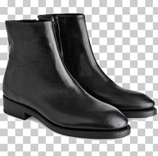 Leather Chelsea Boot Shoe Fashion PNG