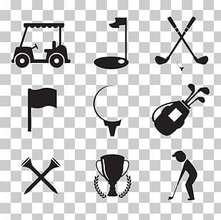 Golf Club Golf Ball Icon PNG