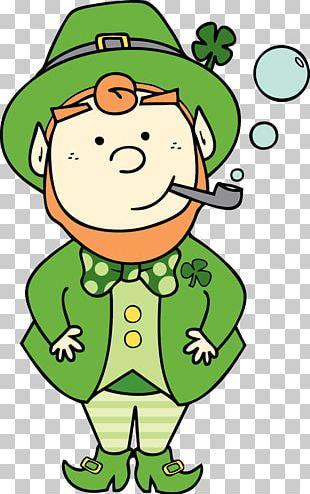 Ireland Patrick Star Saint Patrick's Day Duende Leprechaun PNG