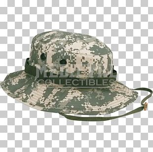 Boonie Hat Military Camouflage Army Combat Uniform Multi-scale Camouflage PNG