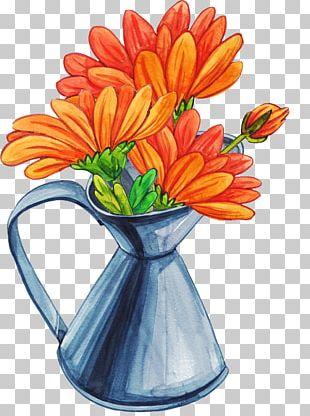 Vase Cartoon Flower Bouquet PNG