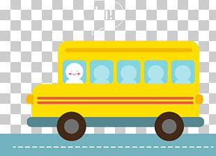 School Bus Yellow Student PNG
