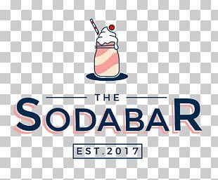 Fizzy Drinks The Soda Bar Logo Ice Cream Float Menu PNG