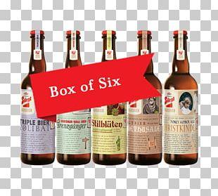 Beer Bottle Stiegl Pilsner Urquell Ale PNG
