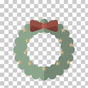 Drawing Crown Christmas Garland PNG