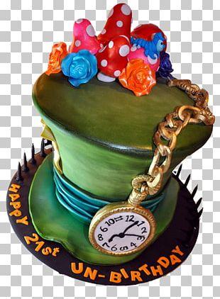 The Mad Hatter Birthday Cake Cupcake Torte Chocolate Cake PNG