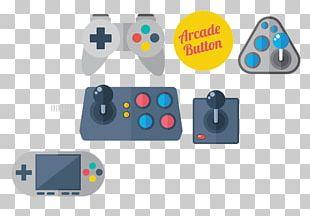 Joystick Video Game Console Game Controller Euclidean PNG