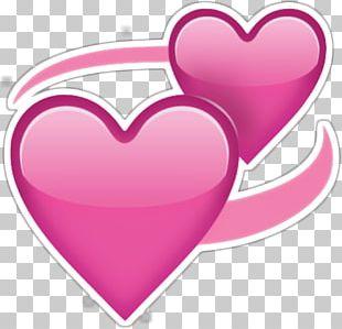 Emoji Heart Love Sticker PNG