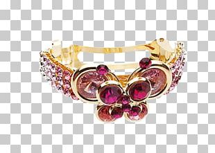Bracelet Ruby Fashion Accessory Adornment PNG