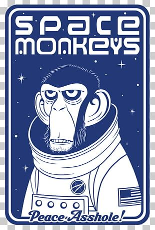 Monkeys And Apes In Space Tell 'Em Steve-Dave! Logo T-shirt PNG