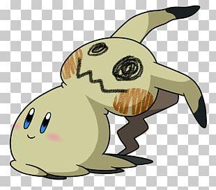 Domestic Rabbit Mimikyu Fan Art Pokémon PNG