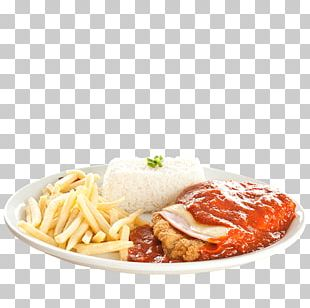 French Fries Chicken Parmigiana Full Breakfast Chicken As Food PNG