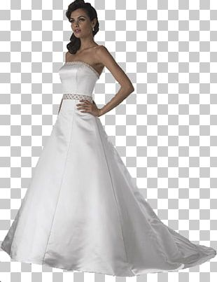 Wedding Dress Evening Gown PNG