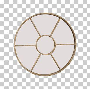 Wall Mirror Clock Decorative Arts PNG