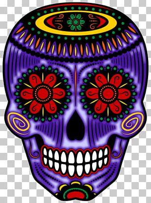 Calavera Skull Day Of The Dead Altar Halloween PNG