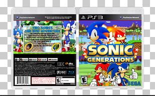 Sonic Generations PlayStation 3 Video Game Computer Software PNG