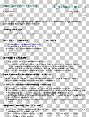 Lesson Plan School Kindergarten Poetry PNG