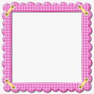 Cute Pink Border PNG