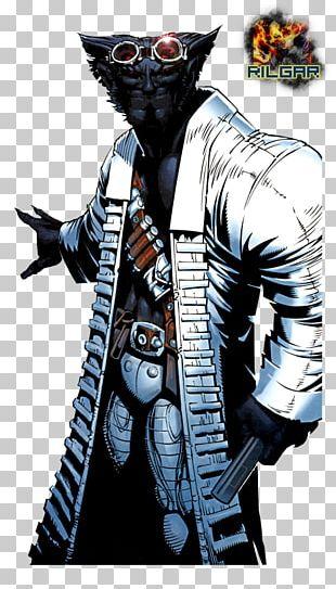 Dark Beast Wolverine Professor X X-Men PNG