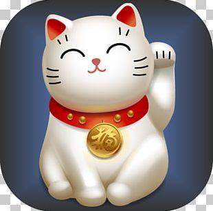 Maneki-neko Luck Japanese Bobtail PNG