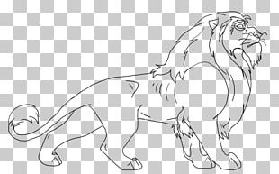 Whiskers Cat Line Art Tail Wildlife PNG