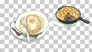 Breakfast Painting Illustration PNG