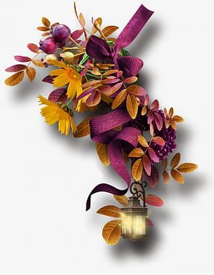 Fall Flowers PNG