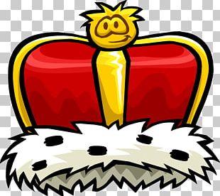 Club Penguin Crown King PNG