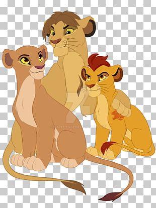 Lion Kion Nala Scar Shenzi PNG