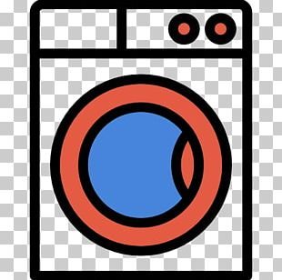 Washing Machine Home Appliance Icon PNG