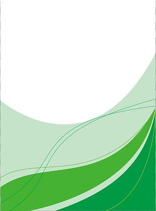 Green Leaf Pattern PNG