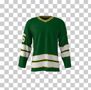 Jersey Sweater Sleeve Hockey T-shirt PNG